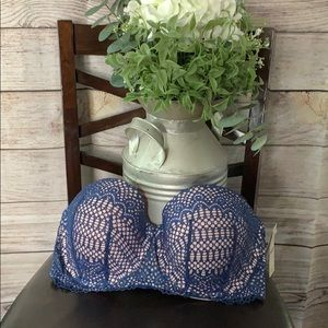 NWT! Cacique lightly lined multi ways bra